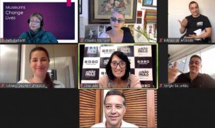 """Secretaria realiza """"Webinário Internacional Cultura Acessível: boas práticas e novas possibilidades"""""""