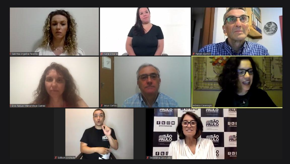 """Secretaria realiza """"Webinário Internacional de Tecnologias Assistivas: sob a ótica das políticas públicas"""""""