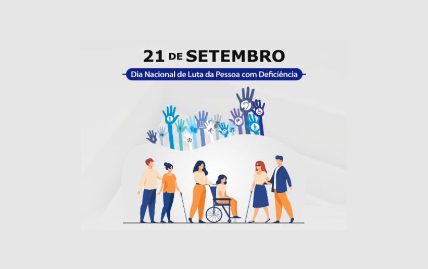 Secretaria celebra Dia Nacional de Luta da Pessoa com Deficiência com programação especial