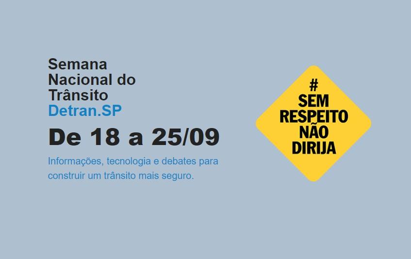 Secretaria dos Direitos da Pessoa com Deficiência de SP realiza campanha para Semana Nacional de Trânsito