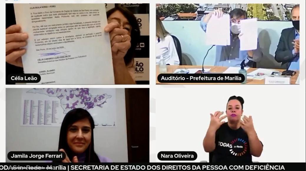 Marília recebe programa de empoderamento às mulheres com deficiência da Secretaria