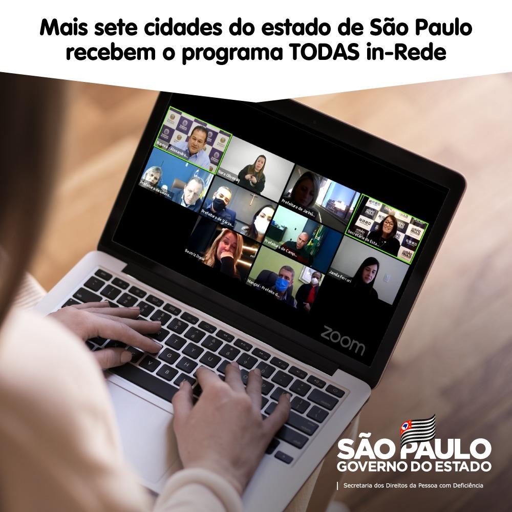 Sete cidades do interior paulista recebem programa estadual de empoderamento às mulheres com deficiência
